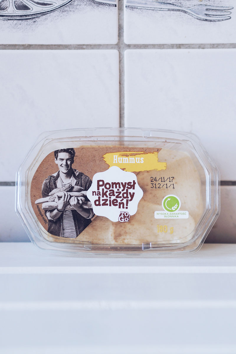 Hummus w wersji klasycznej - Lidl.