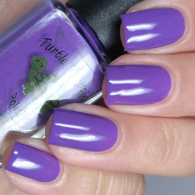 Turtle Tootsie Polishes - Purple Ranger