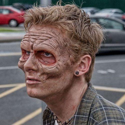 صور مخيفا zombie-makeup-amazin
