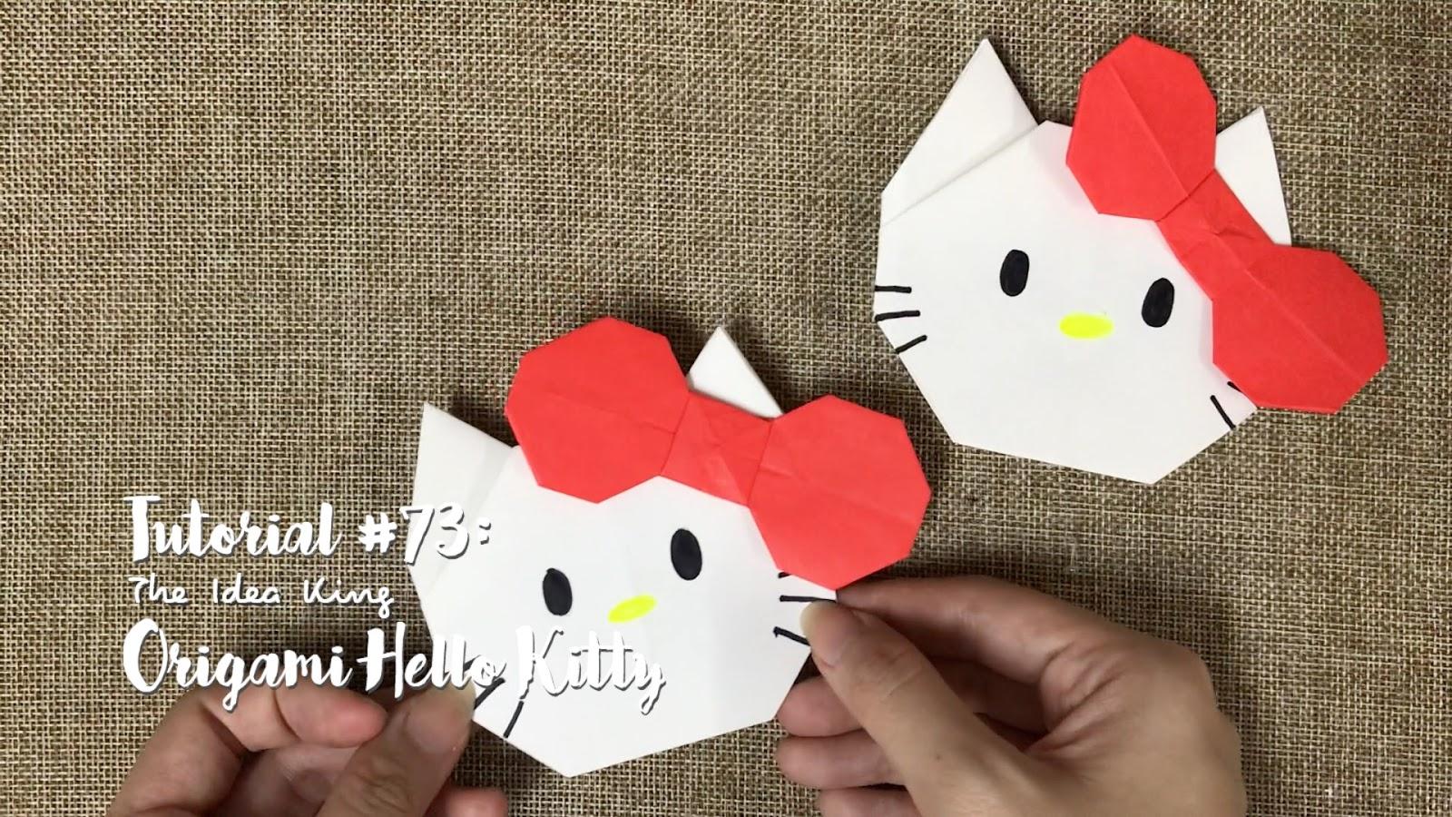 Unduh 93+ Gambar Hello Kitty Dari Origami Terbaru Gratis
