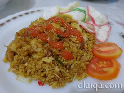 Nasi Goreng Seafood ala Rika