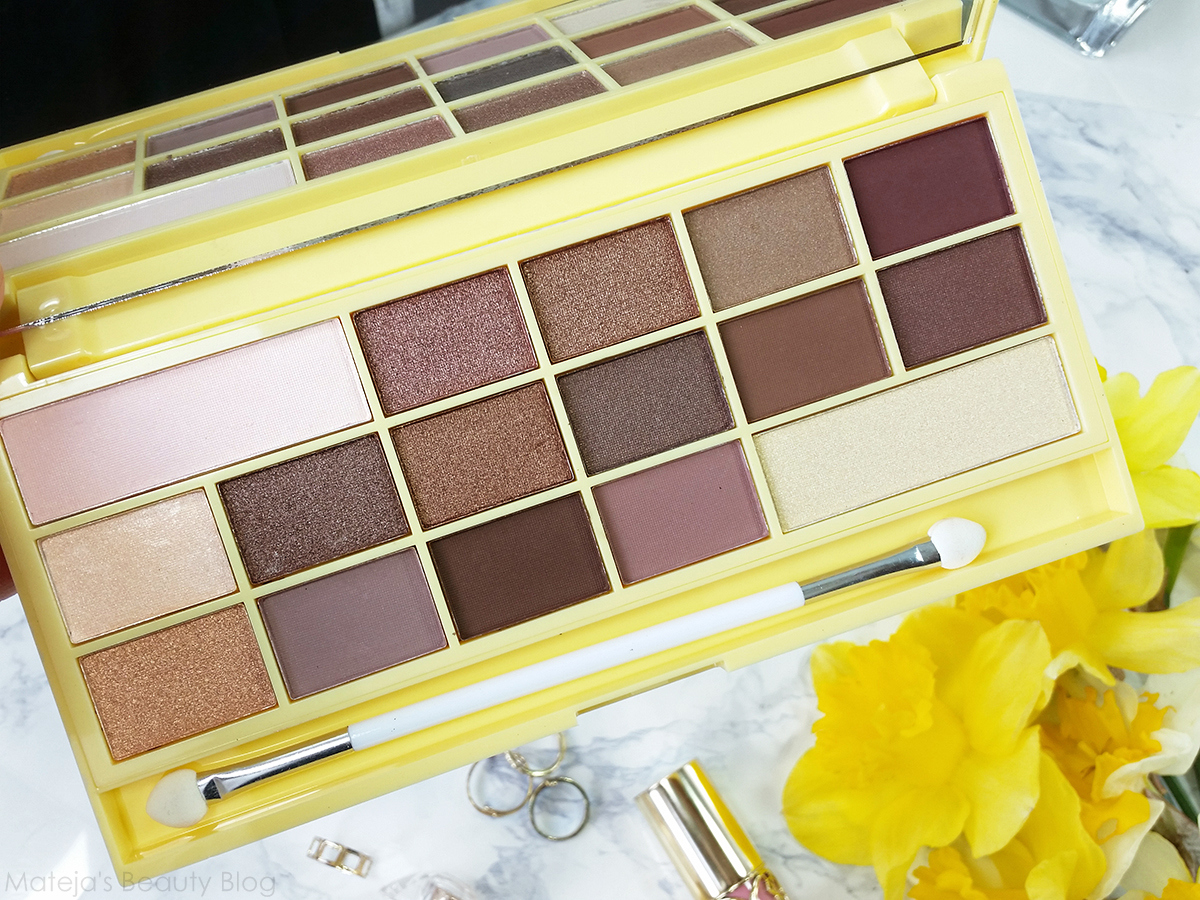 I Heart Makeup Naked Chocolate Palette - Mateja's Beauty Blog