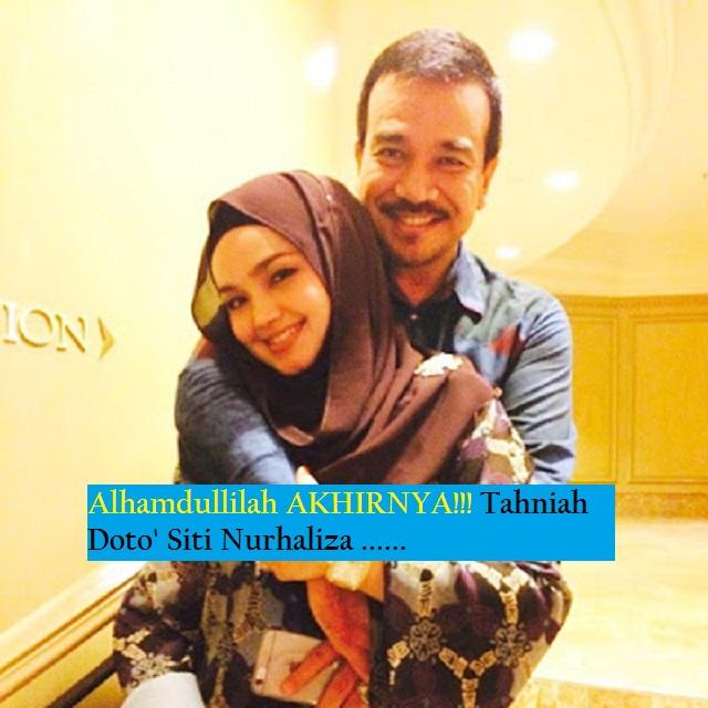 MESTI BACA Alhamdullilah AKHIRNYA Tahniah Dato Siti Nurhaliza