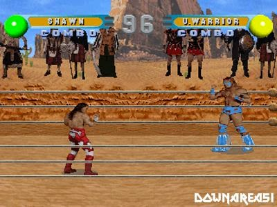 WWF In your House PSX Screenshot