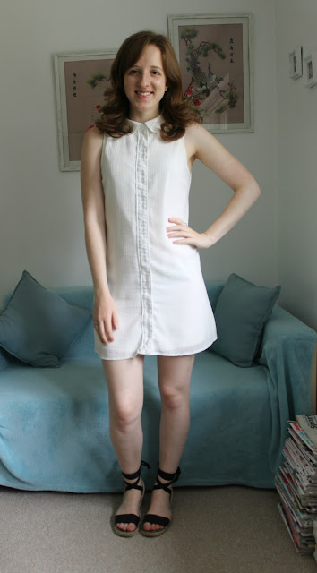 OOTD: White Zara Dress and Lace Up New Look Espadrilles, OOTD, Zara, New Look, White Dress, Espadrilles, Primark, Accessorize, outfit, summer, summer outfit, fashion blogger, blogger, fashion
