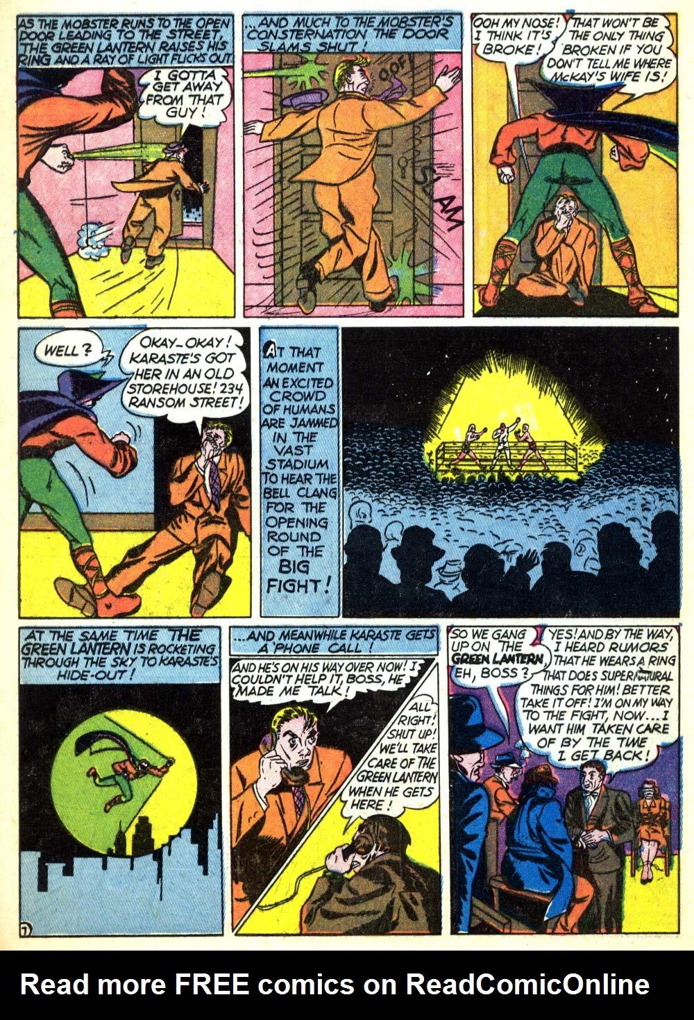 Read online All-American Comics (1939) comic -  Issue #22 - 9