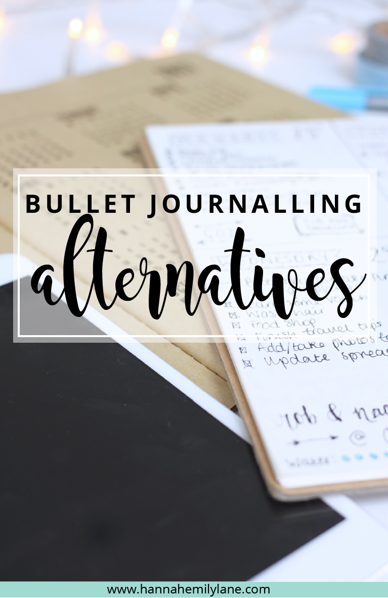 For those people who want to stay organised but can't get on with a bullet journal, here's some suggestions! | www.hannahemilylane.com