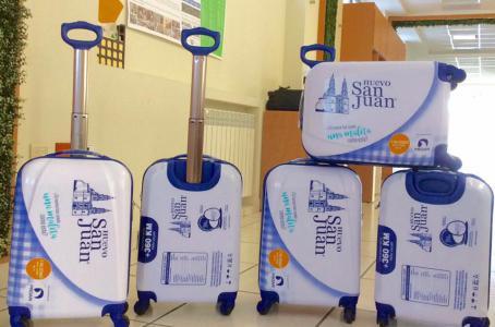 """""""Huevo San Juan """" regalará maletas a quienes utilicen sus cajas de cartón para guardar equipaje -"""