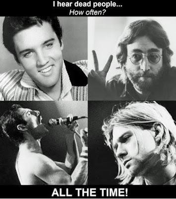 Berühmte tote Musiker lustig ich kann tote Menschen hören