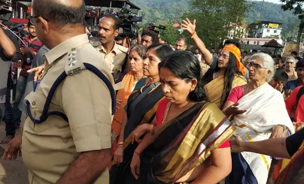 News, Sabarimala, Kerala, Top-Headlines, Police, Accused, Arrest, Case, Trending, 52-year-old woman attacked in Sabarimala; accused arrested