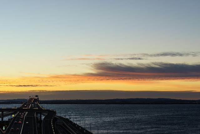海ほたるからの景色