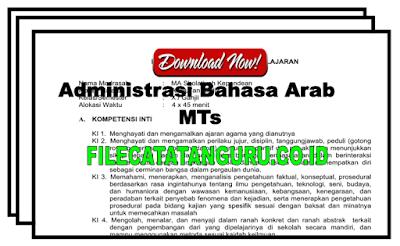 Perangkat administrasi bahasa arab kelas 7,8 dan 9 MTs Kurikulum KTSP