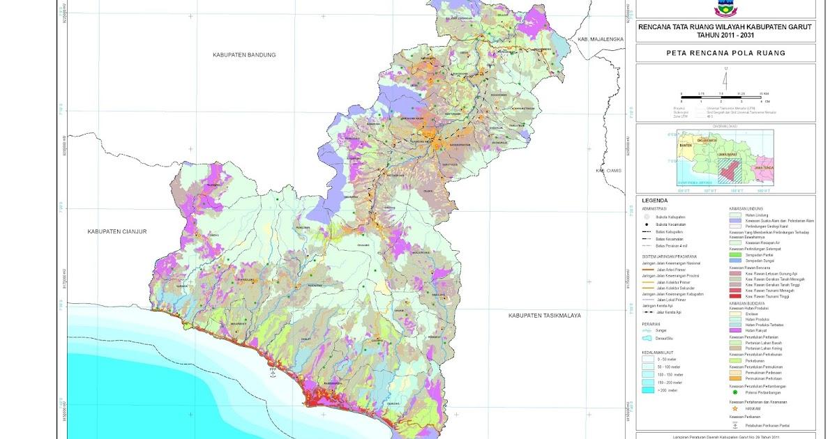 Peta Kota: Peta Kabupaten Garut
