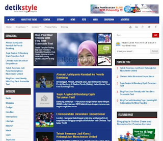 Detik Style - News Blogger Template