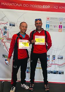 Atletismo Aranjez Maratón Oporto