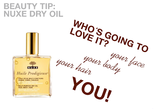 BEAUTY TIP: NUXE DRY OIL