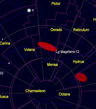 constellation profile mensa simon j astronomy