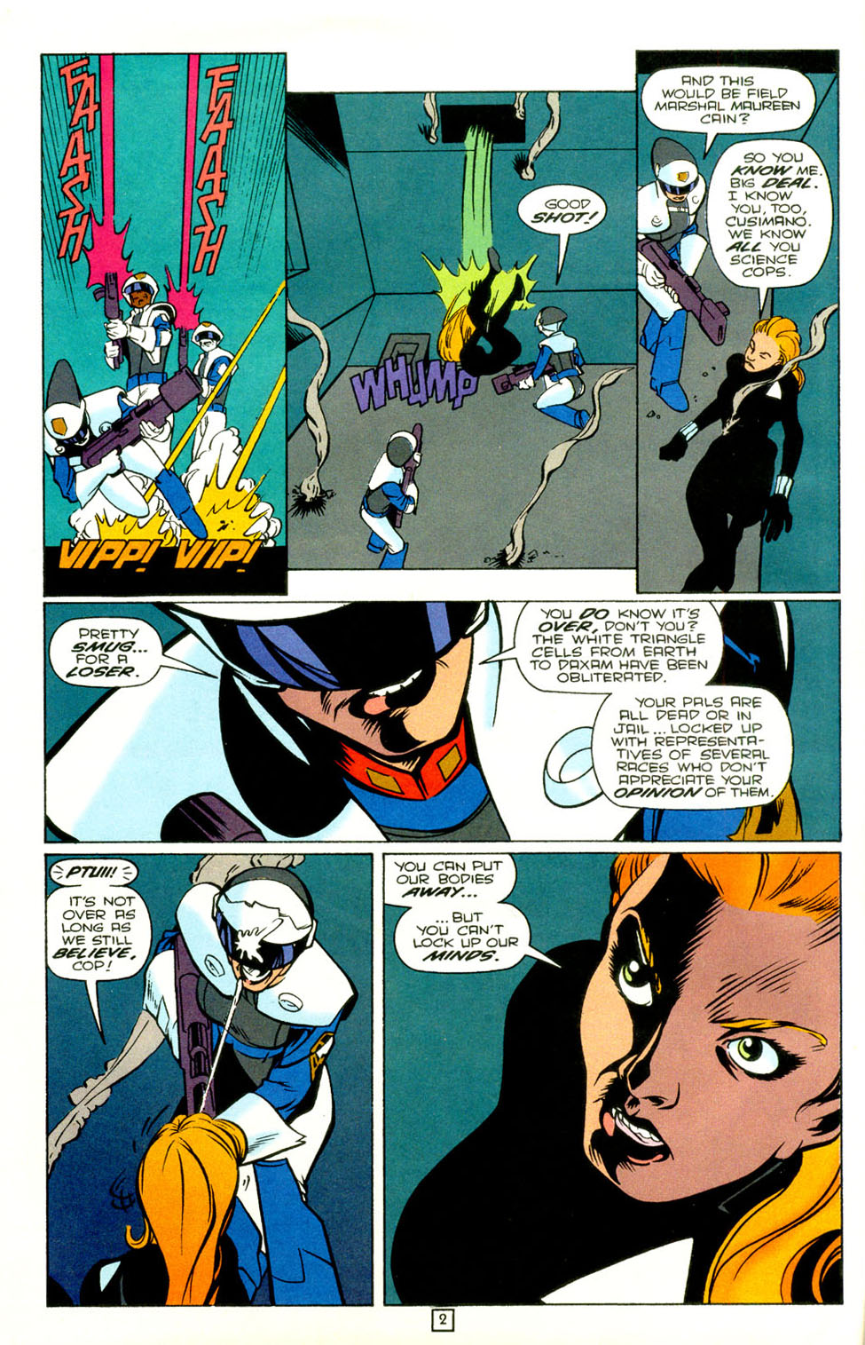 Legion of Super-Heroes (1989) 72 Page 2