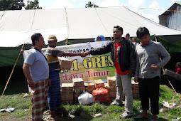 IKAMAN Gresik Salurkan Bantuan Gempa Lombok