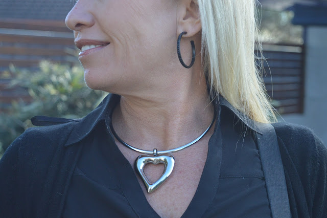 Sydney Fashion Hunter #44 - Back In Black - Envy Jewellery Choker