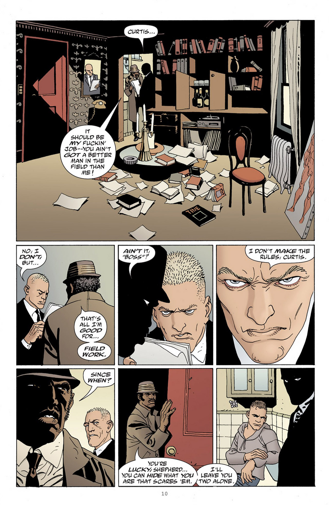 Read online 100 Bullets comic -  Issue #83 - 11