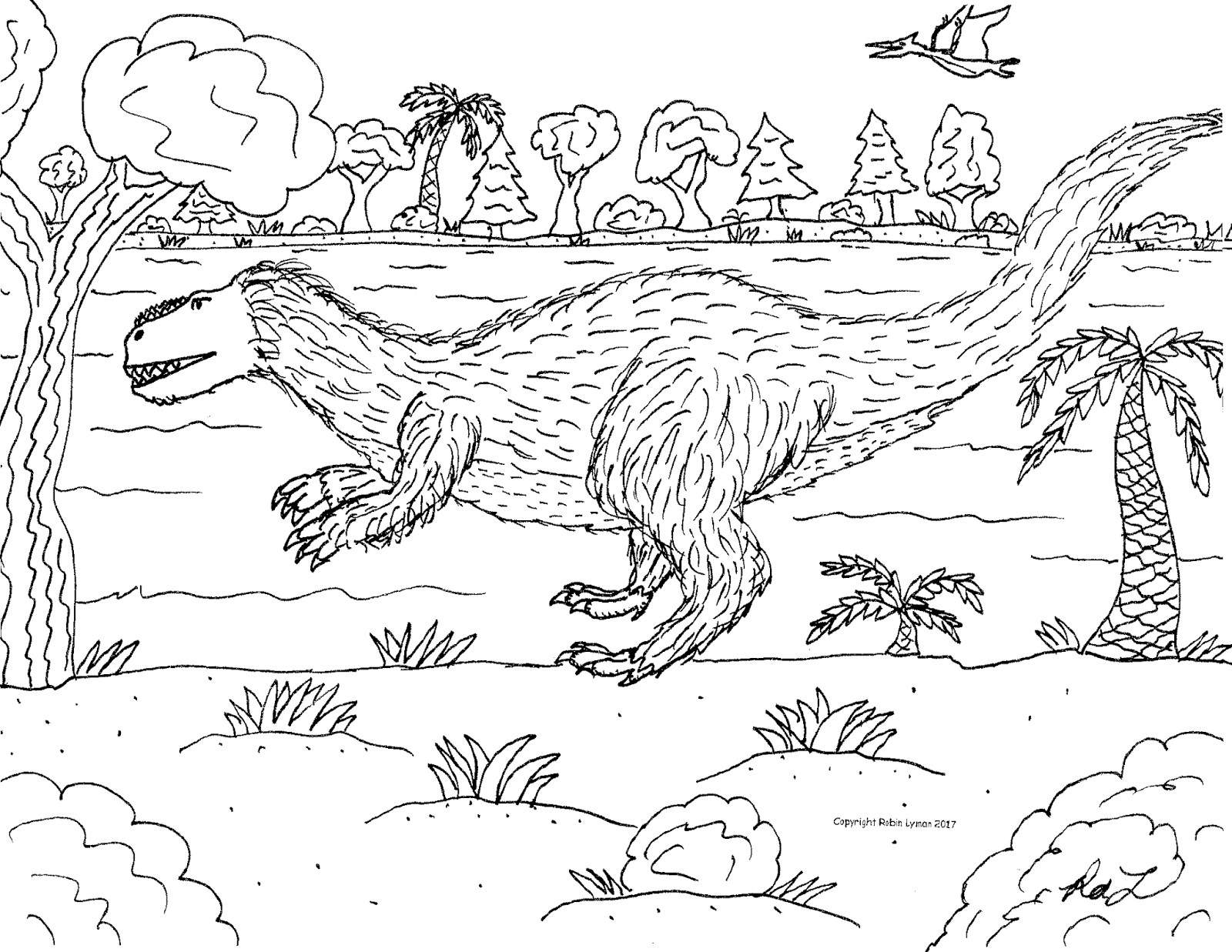 Robin S Great Coloring Pages New Torvosaurus