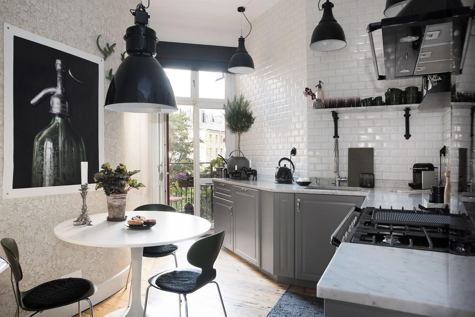 Cozinha Preta E Branca Combinação Clássica Que Agrada Muita Gente