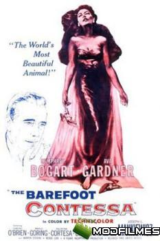Capa do Filme A Condessa Descalça