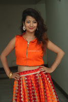 Shubhangi Bant in Orange Lehenga Choli Stunning Beauty ~  Exclusive Celebrities Galleries 003.JPG