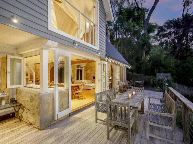 Stunning Stone Beach House in Avalon | Desire Empire - photo#11