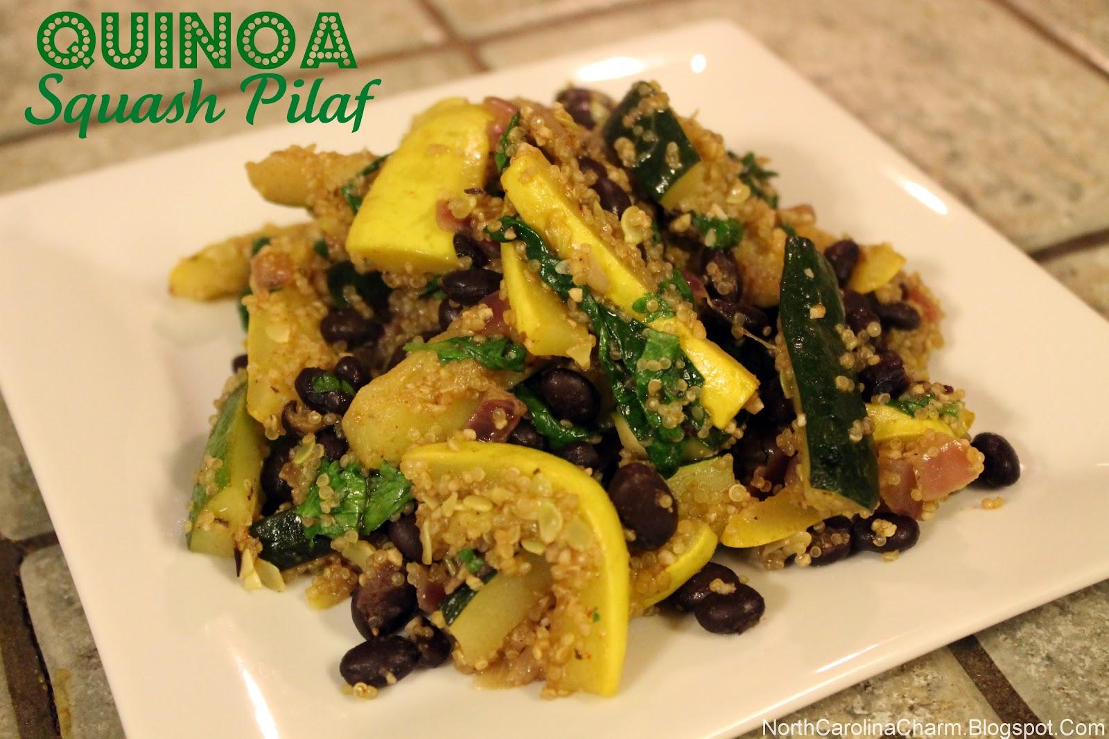 Quinoa Squash Pilaf