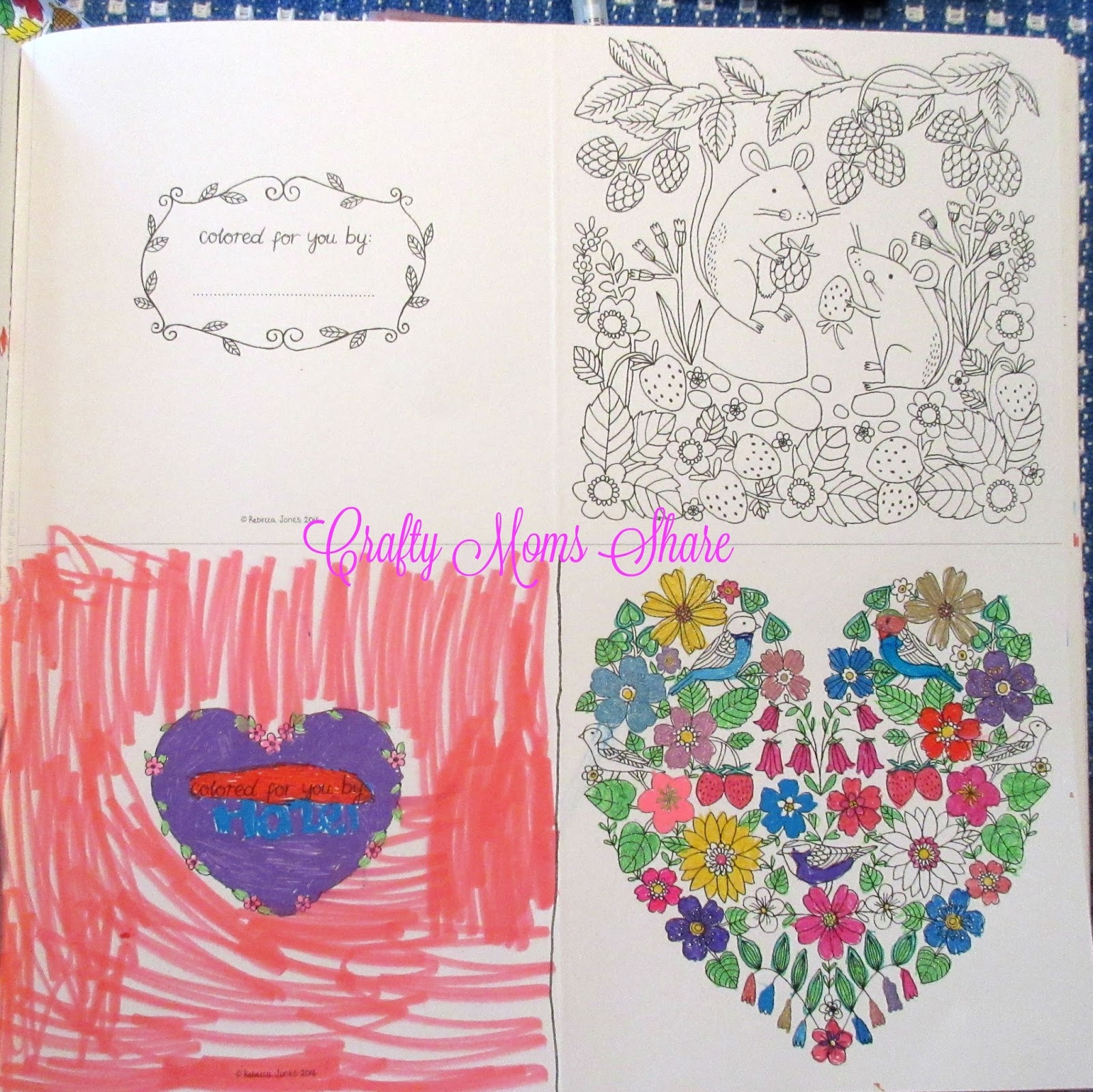 Crafty Moms Share: Coloring Books -- Crafty Weekends Review & Link Party