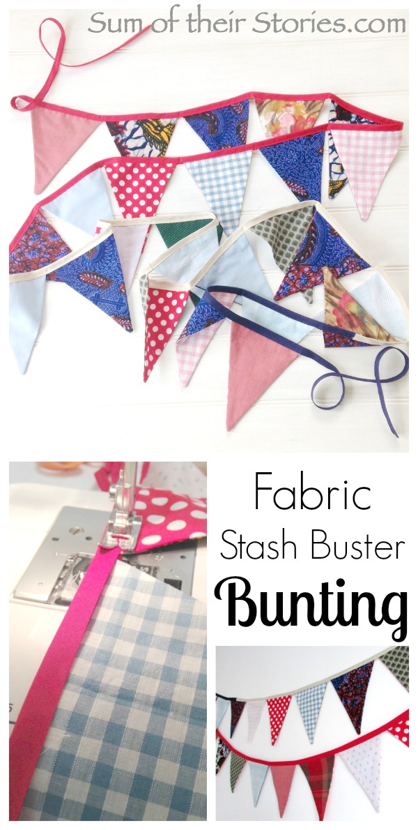 Easy to sew bunting