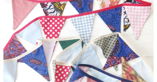 Fabric Stash Buster Bunting