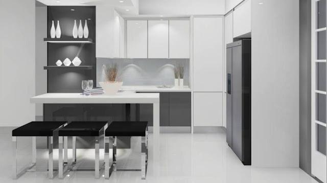 desain dapur sederhana dan murah terbaru