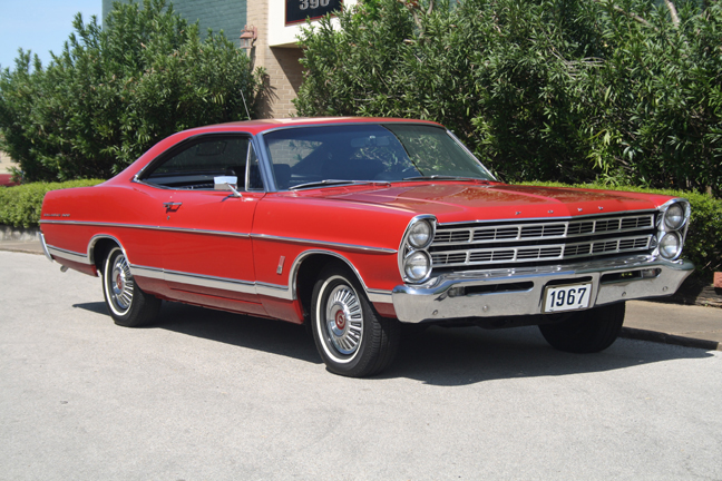 1967 ford galaxie vehicle identification number
