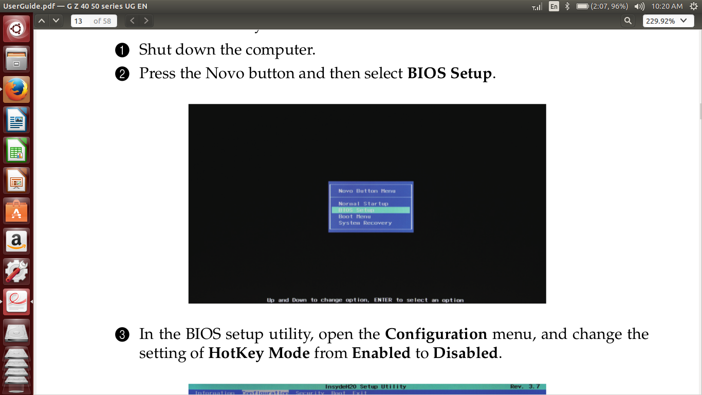 Installation of Ubuntu 14 04 1 in dual boot with Windows 8 1 on