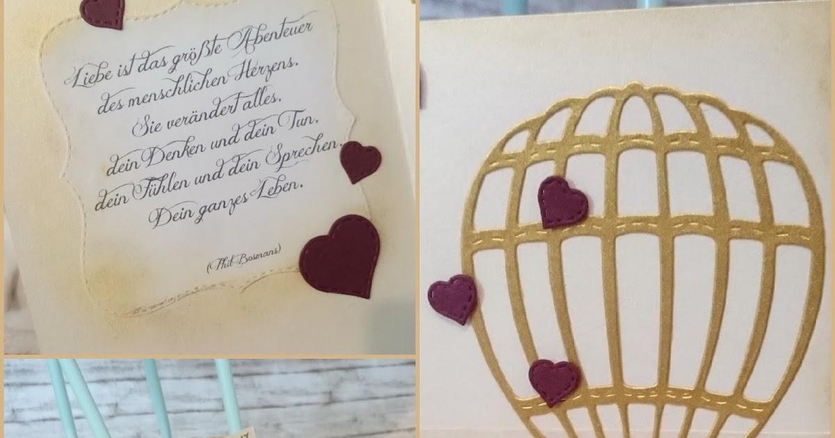 lucciola diy wedding card golden hot air balloon