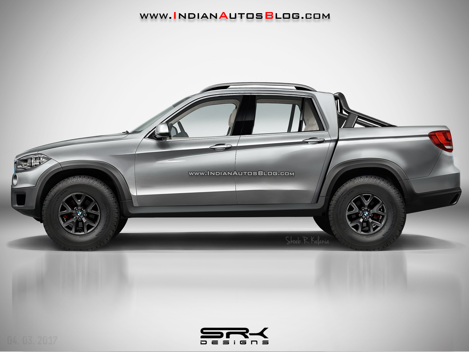 A Bmw X5 Based Pickup Truck Actually Look Ok Carscoops