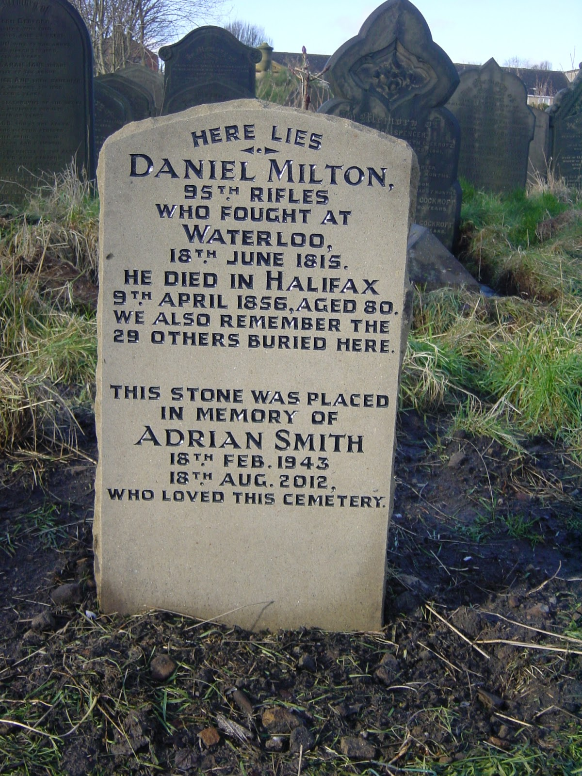 Lister Lane Cemetery (Halifax, United Kingdom)