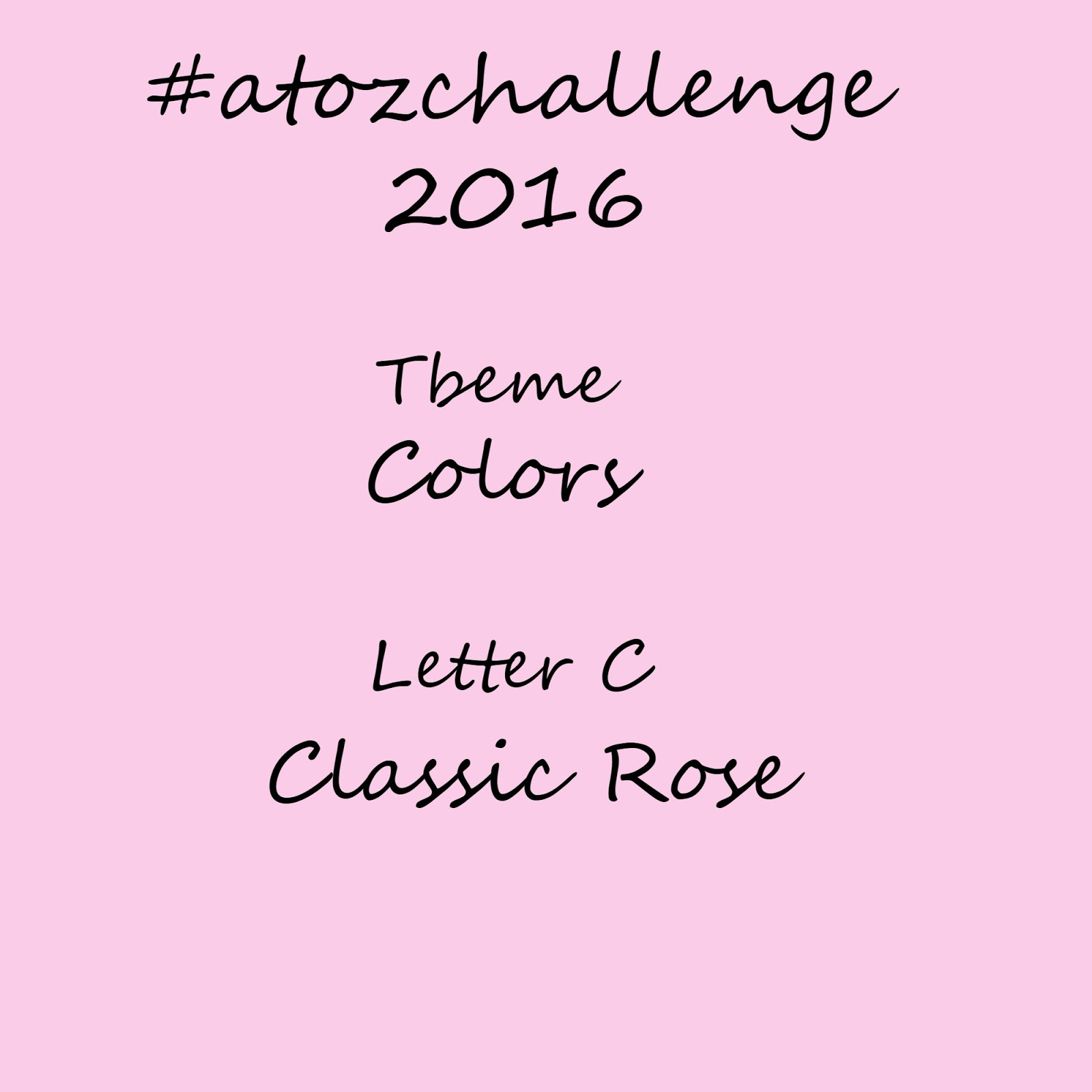 atozchallenge 2016//C is for Classic Rose - laceituplove