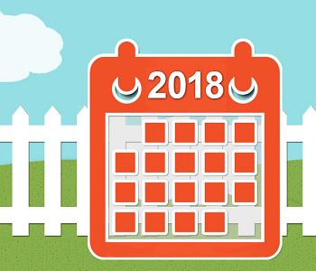 2018 City Wide & Neighborhood Garage Sale Events Calendar
