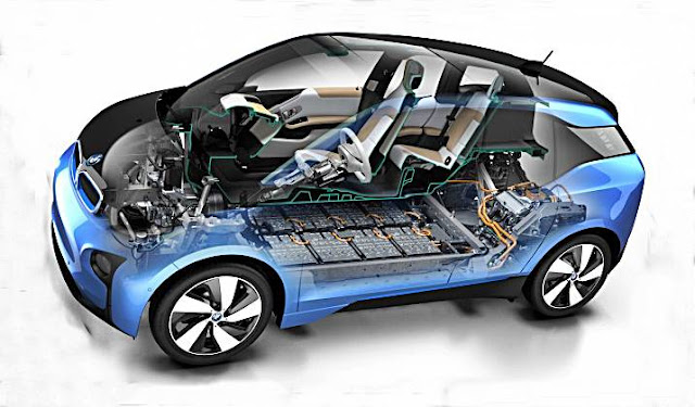 2017 BMW i3 Electric Car with 170-hp AC Motor Power