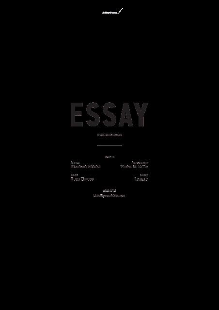 ESSAY SPRING SUMMER 2016 / SS16 / FASHION BRAND - DESIGN LABEL  /  TOKYO JAPAN  /  DESIGINER  RYUSUKE KASE  HIROHIDE TAKEI / STYLING KENTARO HIGAKI  / PHOTOGRAPHY YUICHIRO NODA