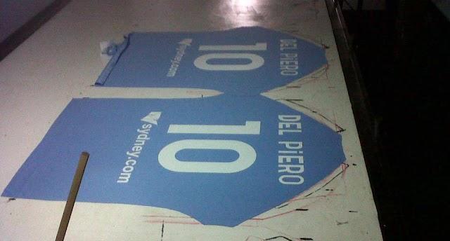 Perbedaan Sablon Polyflex Dengan Printing Dalam Pembuatan Jersey