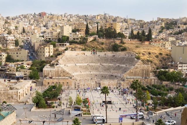 Plaza Hachemita y Teatro Romano de Amman