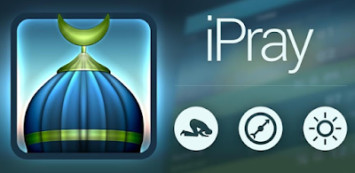شرح تطبيقiPray : للتذكير بمواعيد الصلاة بالأذان وتحديد اتجاه القبلة مع التقويم الهجري