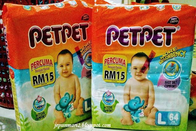 Pet Pet, percuma baucer tunai RM15
