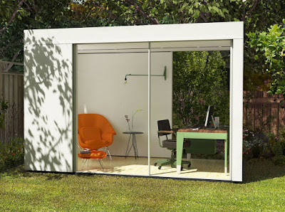 Shedworking cover garden offices in the usa for Garden office wales