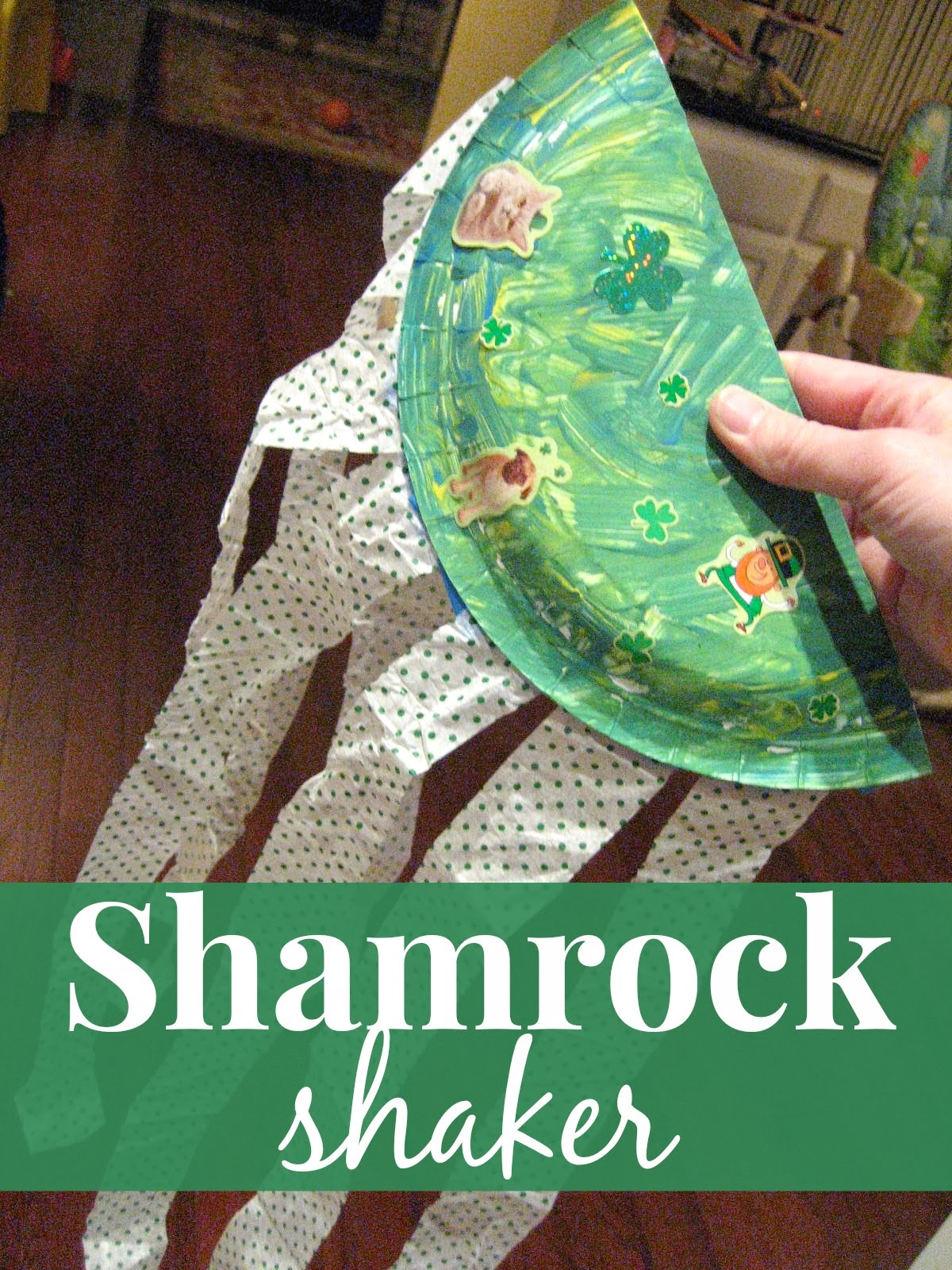 Toddler Approved Shamrock Shaker